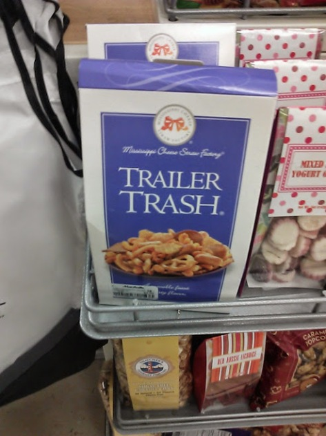 Trailer Trash snacks