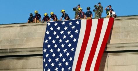 pentagon-american-flag