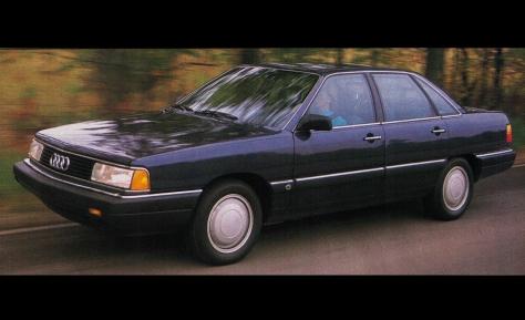 1987 AUDI 5000CS TURBO QUATTRO